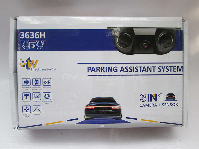 Parking Assistant Camera 3 in 1 - TW Image-1