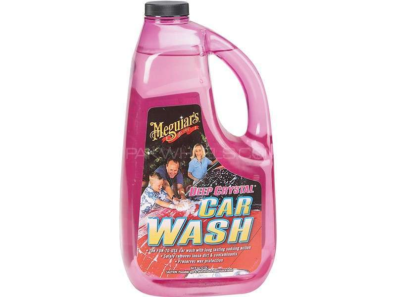 Meguiar's Deep Crystal Car Wash - G10464 Image-1
