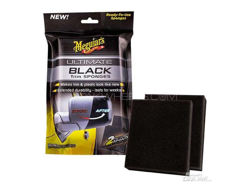 Meguiar's Ultimate Black Sponges - G15800 Image-1