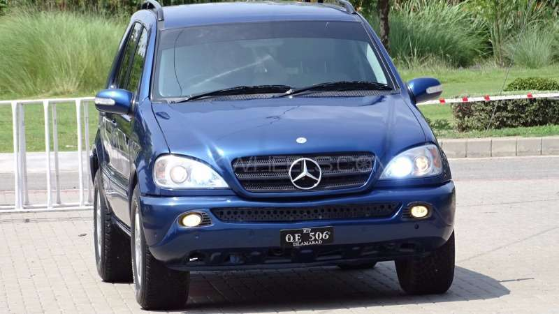 mercedes benz m class ml 320 2002 for sale in rawalpindi pakwheels. Black Bedroom Furniture Sets. Home Design Ideas