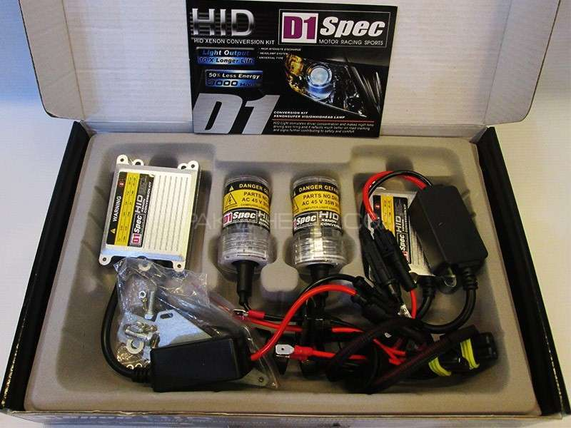 D1 Spec HID Lights 75W - H11 Image-1
