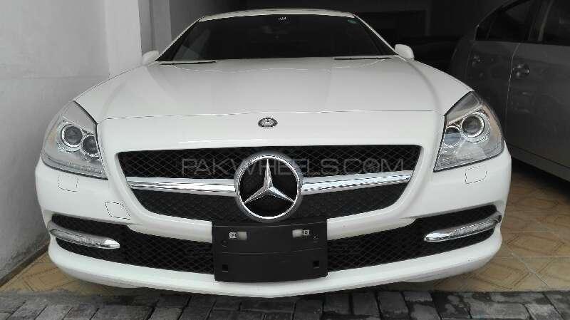 Mercedes Benz SLK Class SLK200 2012 Image-1