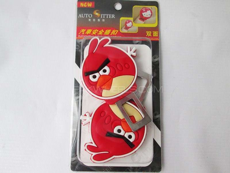 Angry Bird Seat Belt Buckles Image-1