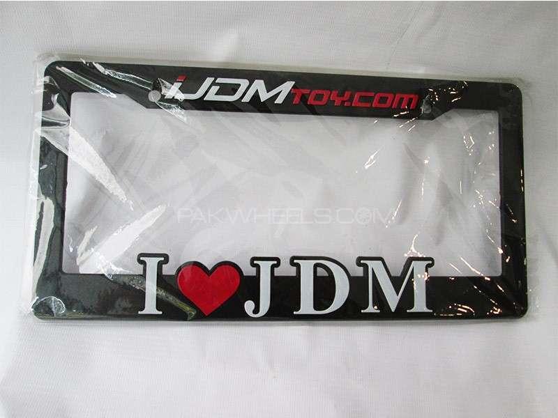 JDM Number Plate Frame Image-1