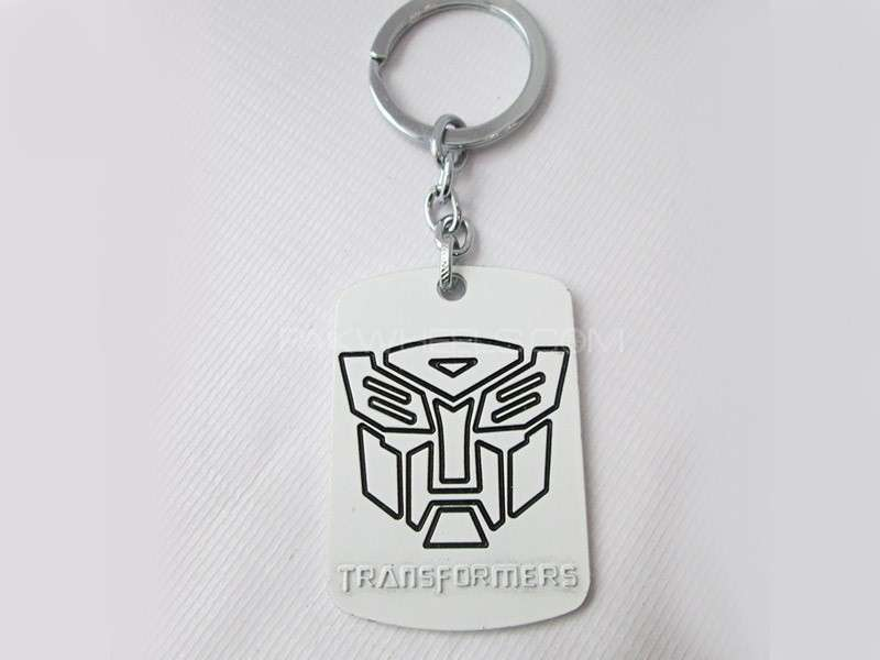 Transformer Key Chain - Silver Image-1