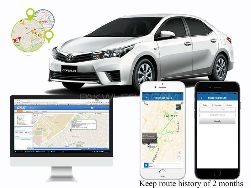 Car Tracking System Get Location On Smartphone
