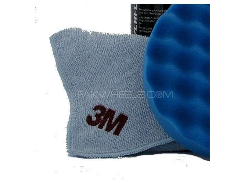 3M™ Perfect-it™ III High Performance Polishing Cloth - Blue Image-1