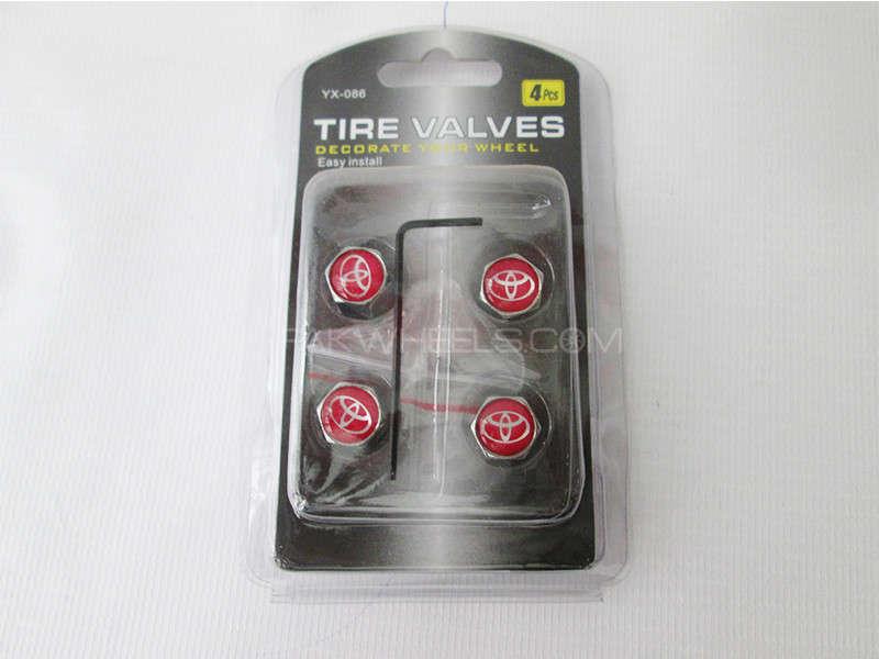 Valve Cap - Toyota - With L Key Image-1