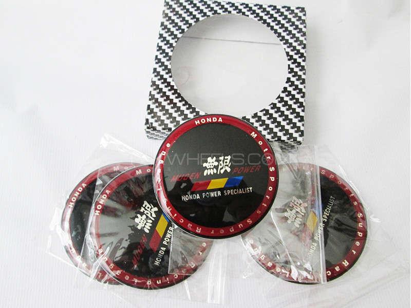 Wheel Cap Emblem Honda - Mugen Power Image-1