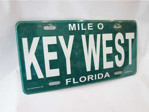 Number Plate - KEY WEST  in Lahore