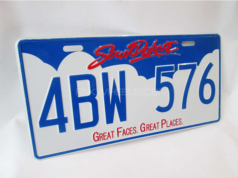 Number Plate - 4BW-576 Image-1