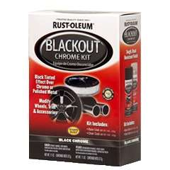 Black Out Chrome Kit by Rustoleum USA Image-1