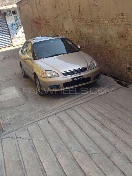 Honda Civic VTi Oriel Prosmatec 1.6 2000 Image-1