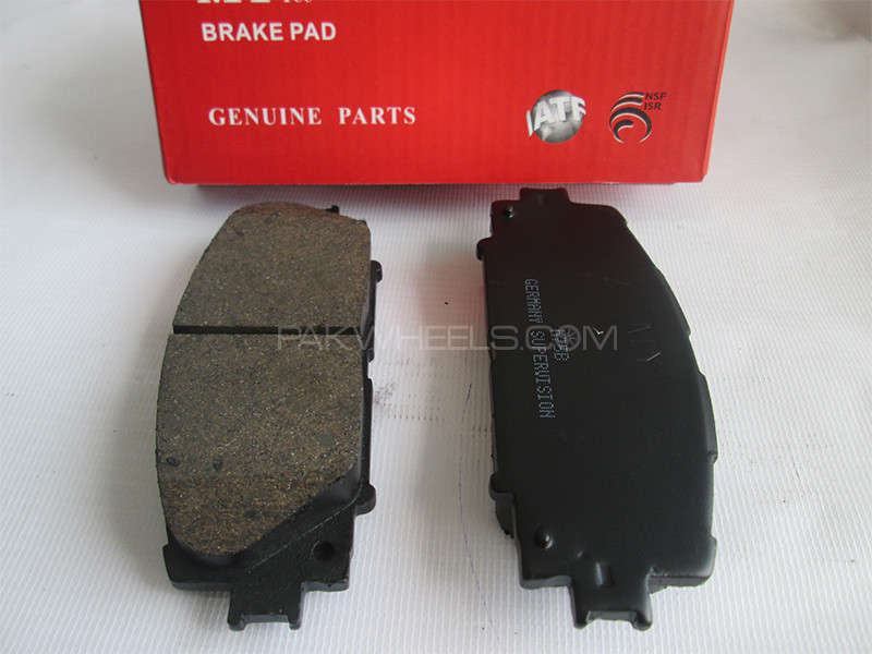 Front Brake Pad Toyota VItz - M75B - 2007-2014 Image-1