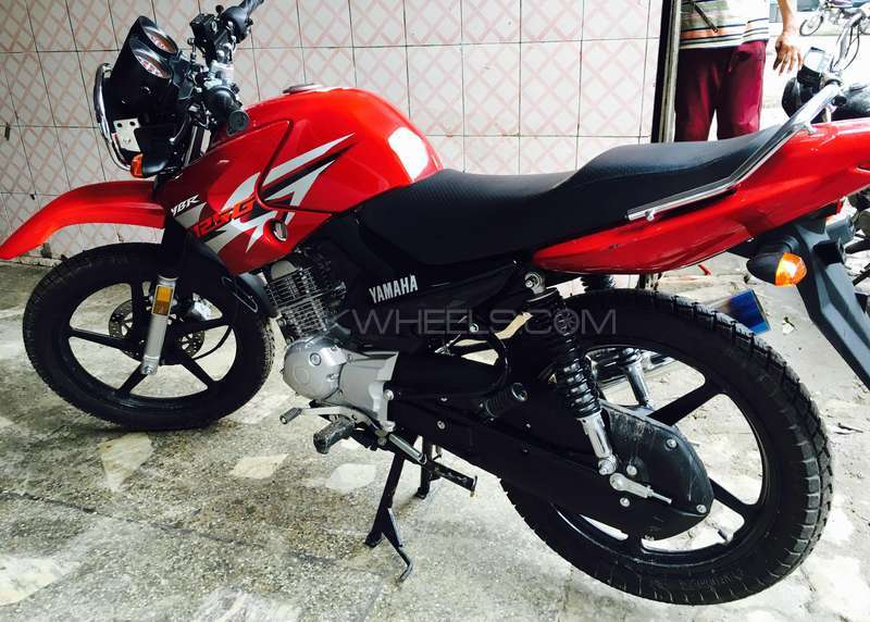 used yamaha ybr 125g 2016 bike for sale in sialkot