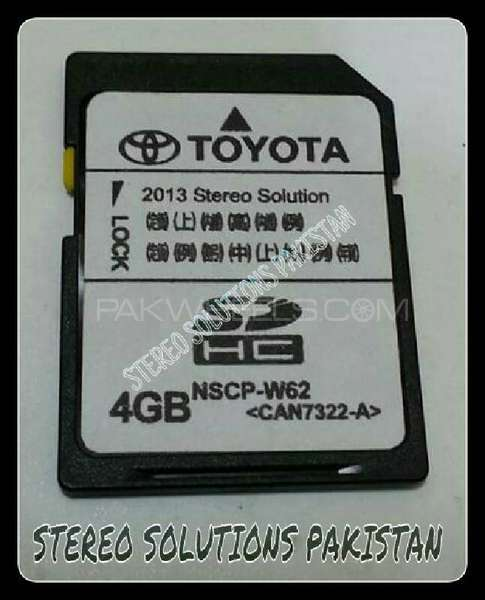TOYOTA ENGLISH VERSION SOFTWARE NSCP-W62 (1 YEARS WARRANTY) Image-1