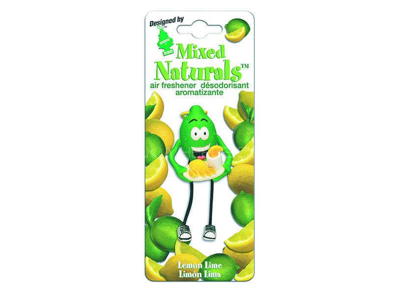 LITTLE TREE MIXED NATURAL - Lemon Lime Image-1