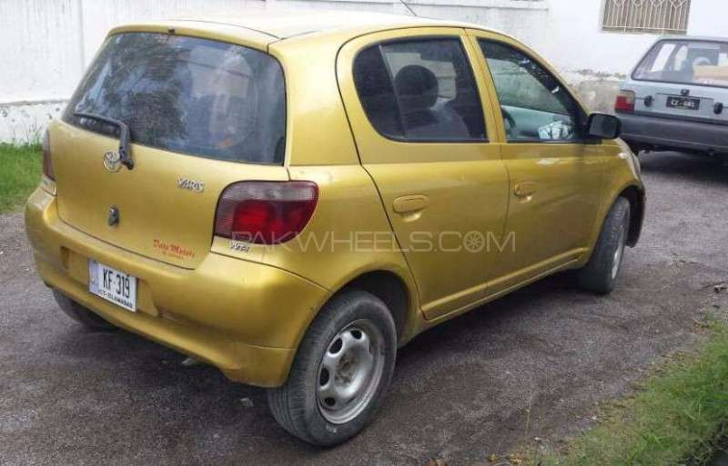 toyota yaris 2001 for sale in rawalpindi pakwheels. Black Bedroom Furniture Sets. Home Design Ideas