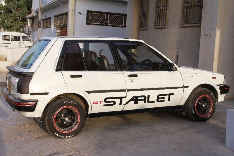 Toyota Starlet 1.3 1986 Image-1