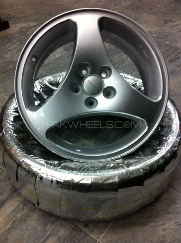 "16"" Alloy Rims Made in Japan  Image-1"