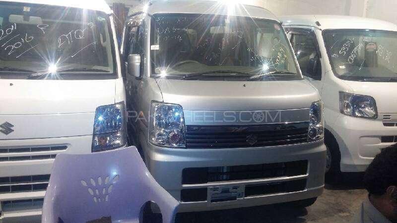 Suzuki Every Wagon JP Turbo Limited 2012 Image-1