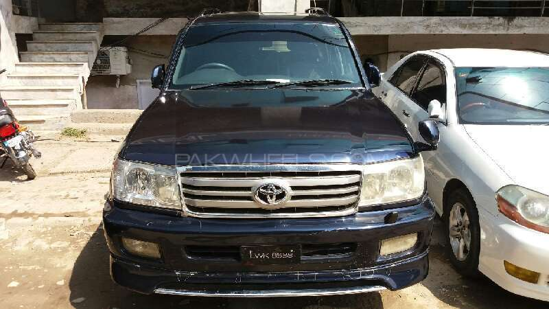 Toyota Land Cruiser Amazon 4.2D 1999 Image-1