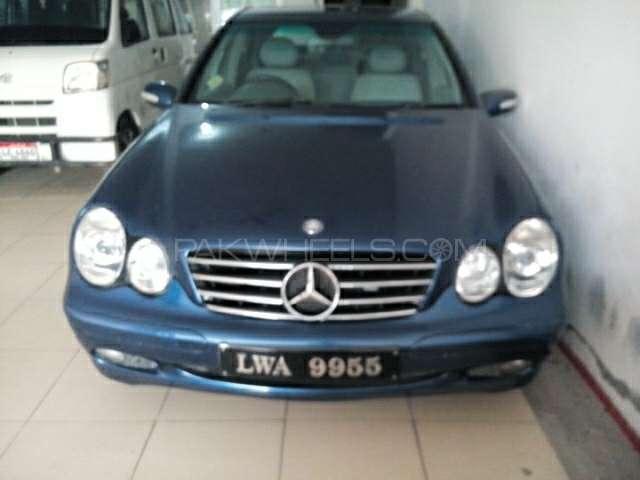 Mercedes Benz C Class C200 CDI 2002 Image-1