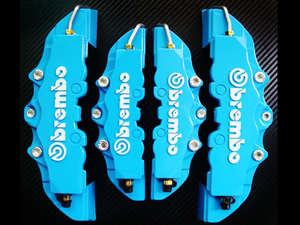 Brembo Cover Blue Large - PA10 in Lahore