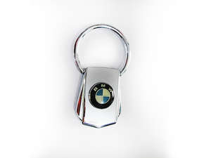 Key Chain BMW Silver Pure Metal - PA10 in Lahore