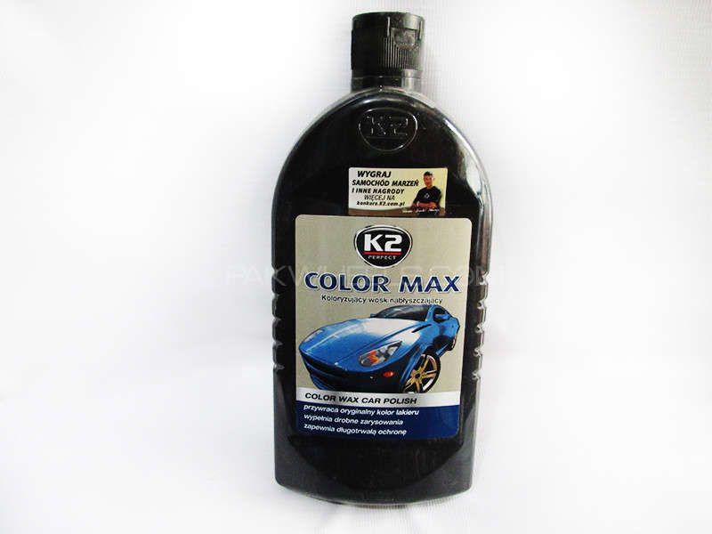K2 COLOR MAX 500ml Black - PA10 Image-1
