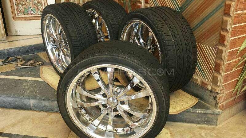 Japnese Alloy Wheels Image-1