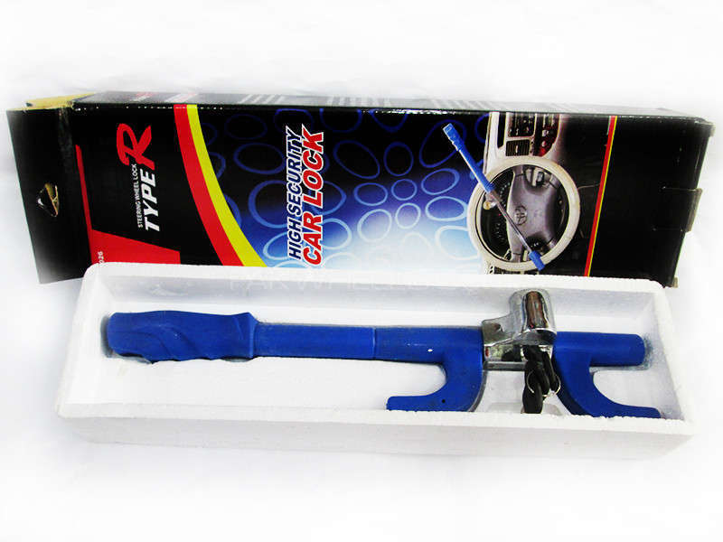 Steering Lock Type R  Blue 6026 - PA10 Image-1
