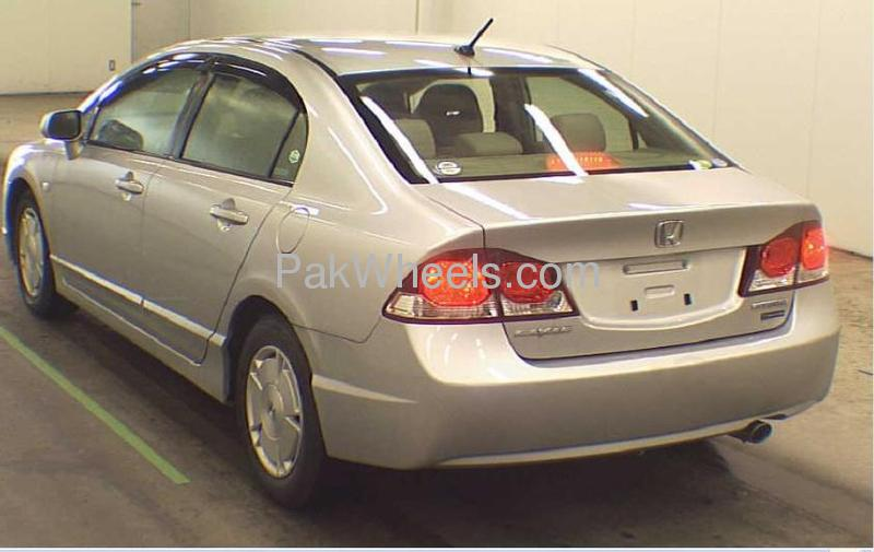 honda civic hybrid 2008 for sale in lahore pakwheels. Black Bedroom Furniture Sets. Home Design Ideas