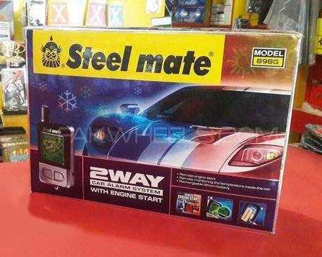 Steelmate 2way Car Alarm With Engine Starter Image-1