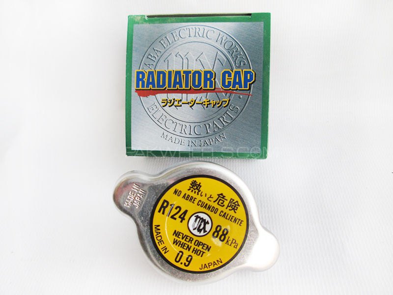 Radiator Cap- JAPAN - R124 Image-1