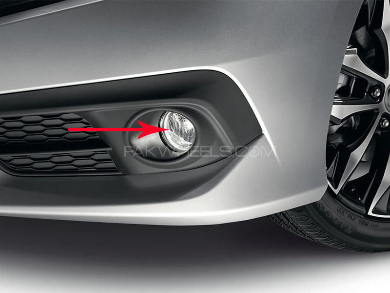 Honda Civic 2016 Genuine Fog Lights in Lahore