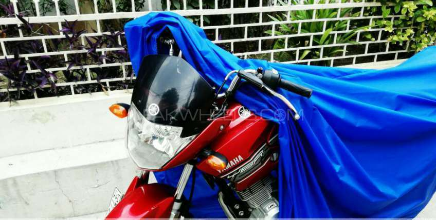 Superb Quality Pure Parachute Motorcycle Rain Covers Image-1