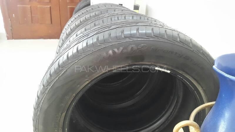 Bridgestone MY02 205/55R16 tires  Image-1