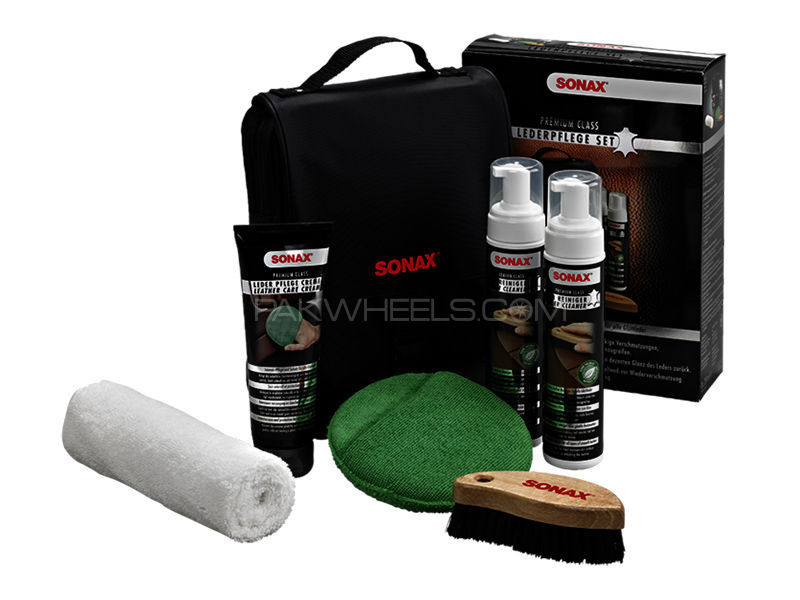 Sonax Premium Class Leather Care Kit in Lahore