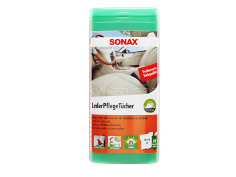 Sonax Leather Care Wipes Box in Lahore