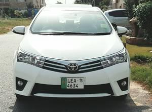 Toyota Corolla Altis Grande CVT-i 1.8 2015 for Sale in Lahore