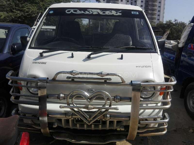 Hyundai Shehzore Pickup H-100 2014 Image-1