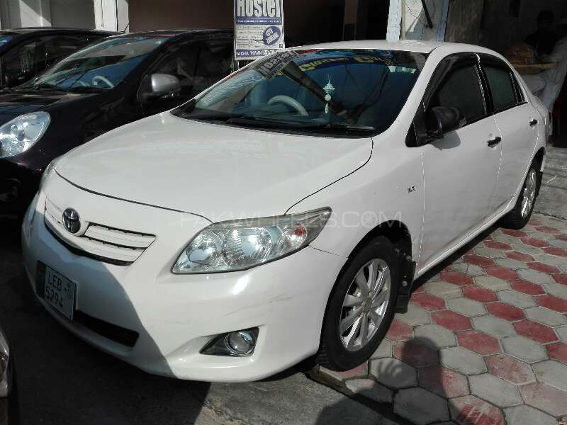toyota corolla 2009 for sale in lahore pakwheels. Black Bedroom Furniture Sets. Home Design Ideas