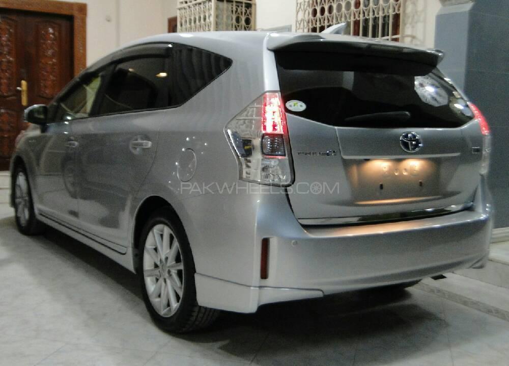 Toyota Prius Alpha G Touring 2013 For Sale In Karachi