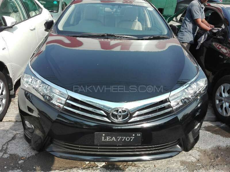 toyota corolla 2016 for sale in lahore pakwheels. Black Bedroom Furniture Sets. Home Design Ideas