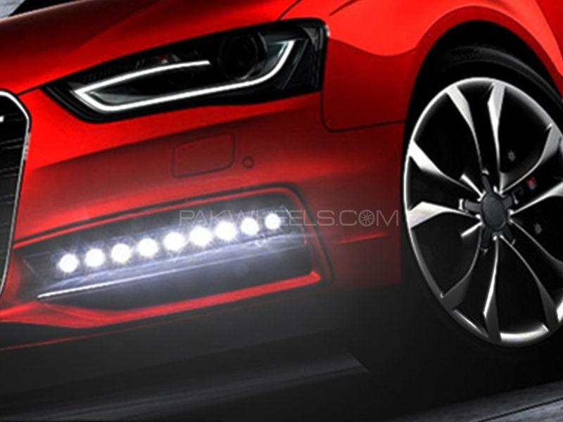 9 LEDs Day Time Running Light Image-1