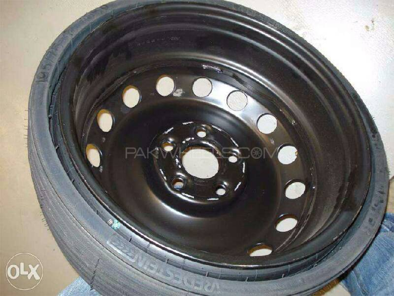 "13"" only rims japani pull out black simple rims Image-1"