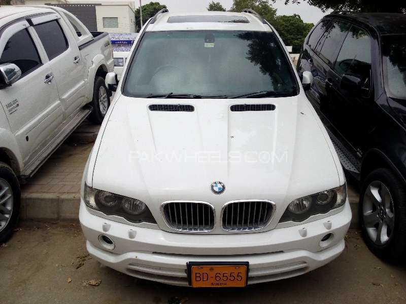 BMW X5 Series 4.4i 2003 Image-1