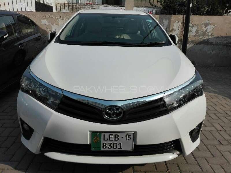 Toyota Corolla Altis 1.6 2015 Image-1