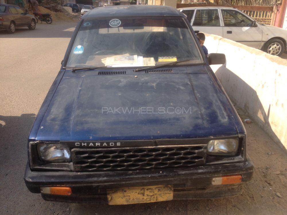 Daihatsu Charade GT-XX 1989 Image-1